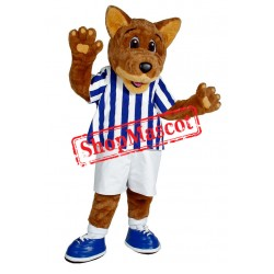Lovely College Wolf Mascot Costume
