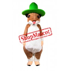 Lovely Lightweight Hamster Mascot Costume