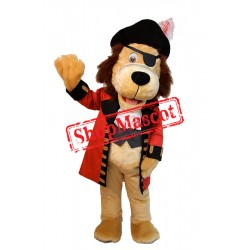 Pirate Lion Mascot Costume
