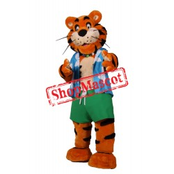 Sport Lightweight Tiger Mascot Costume