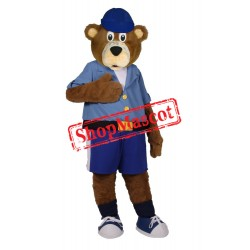 Sport Lightweight Bear Mascot Costume Free Shipping