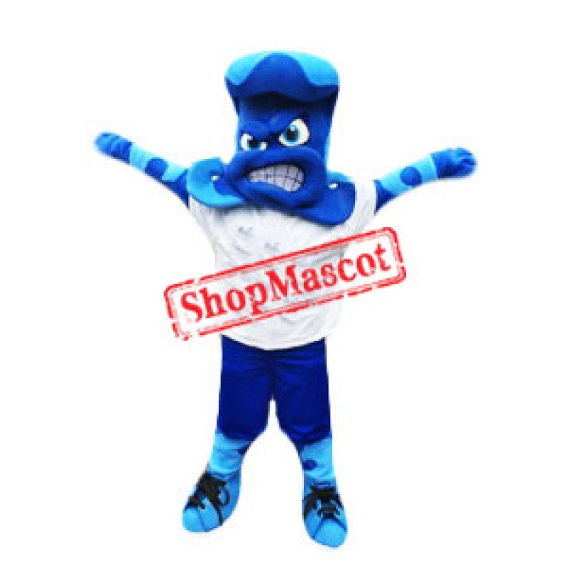 Sport Blue Wave Mascot Costume