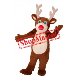 Super Cute Reindeer Mascot Costume
