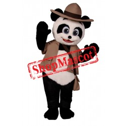 Happy Lightweight Panda Mascot Costume