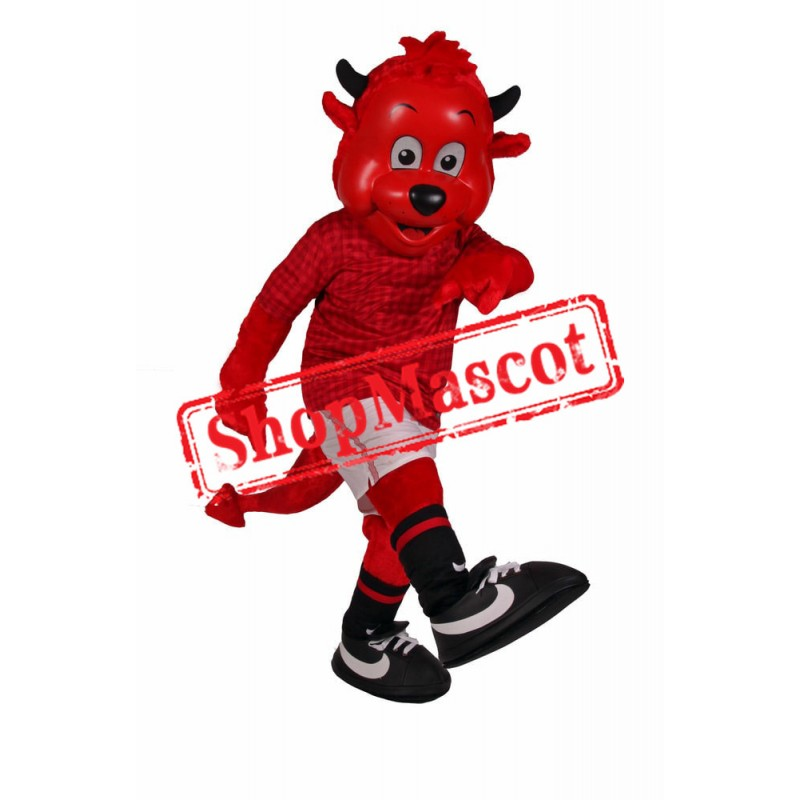 Sport Lightweight Devil Mascot Costume