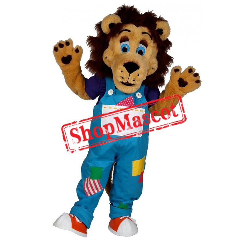 Top Quality Happy Lion Mascot Costume