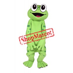 Top Quality Happy Frog Mascot Costume