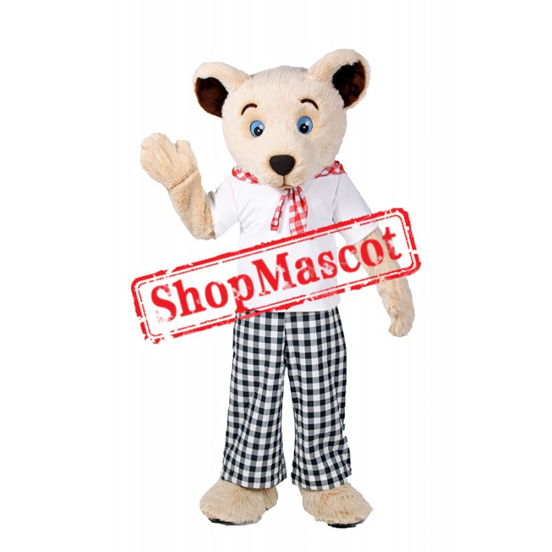 Super Cute White Bear Mascot Costume