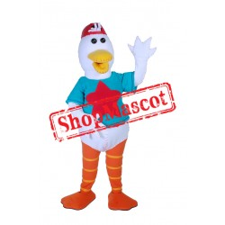 Sport Duck Mascot Costume Free Shipping