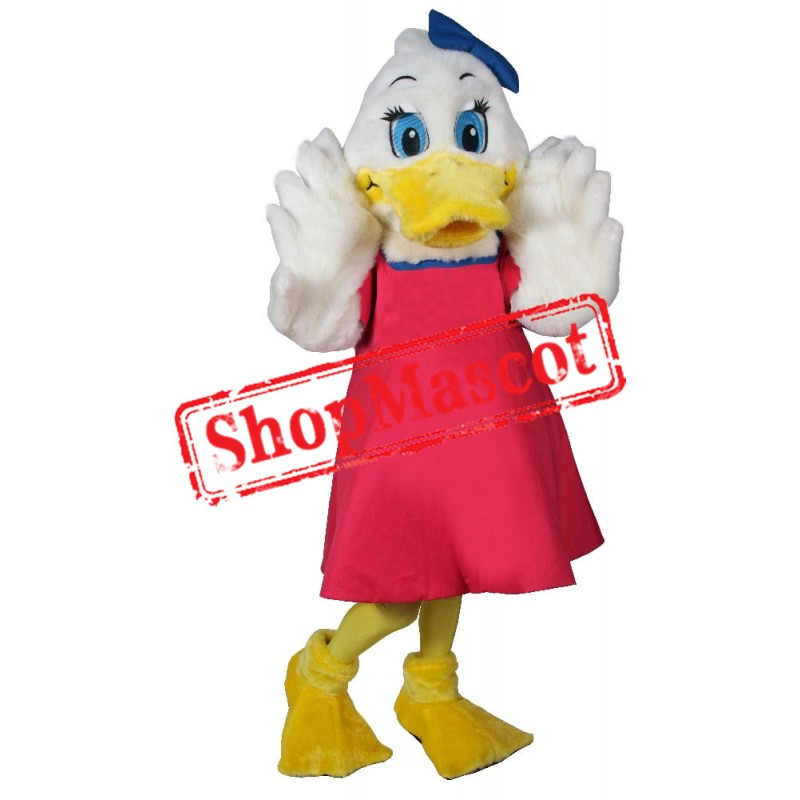 Beautiful Duck Mascot Costume