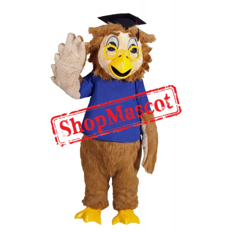 School Owl Mascot Costume