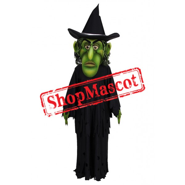 Wicked Witch Mascot Costume