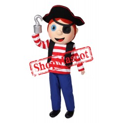 Pirate Boy Mascot Costume
