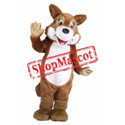Cute Lightweight Furry Fox Mascot Costume
