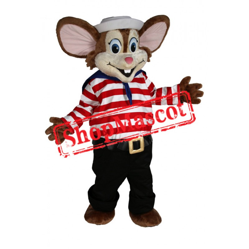 Stripe Mouse Mascot Costume