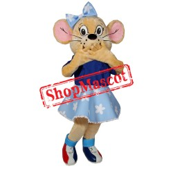 Pretty Mouse Mascot Costume