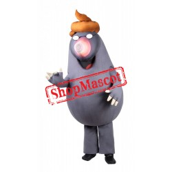 Little Mole Mascot Costume