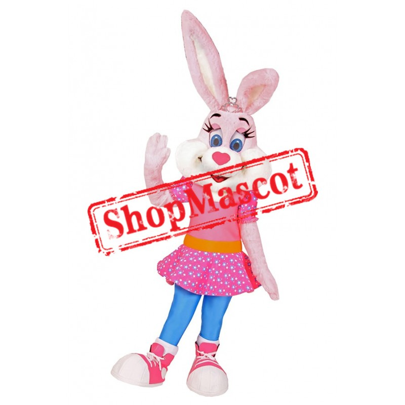 Pretty Rabbit Mascot Costume