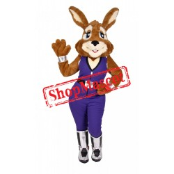 Lovely Furry Rabbit Mascot Costume