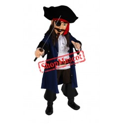 Top Quality Lightweight Pirate Mascot Costume