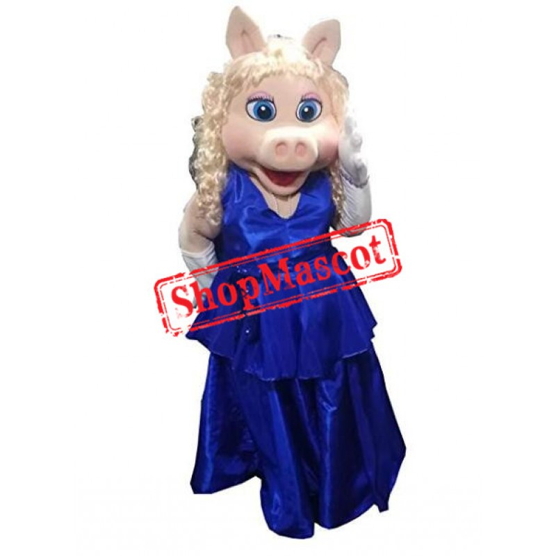 Miss Piggy Mascot Costume