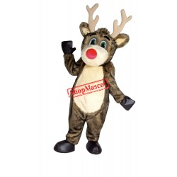 Best Quality Lightweight Reindeer Mascot Costume