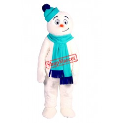 Super Cute Lightweight Snowman Mascot Costume