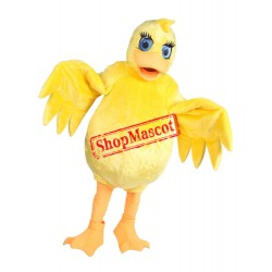 Lovely Lightweight Yellow Duck Mascot Costume