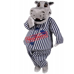 Lovely Lightweight Hippo Mascot Costume Free Shipping