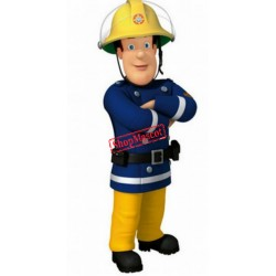 Top Quality Fireman Mascot Costume