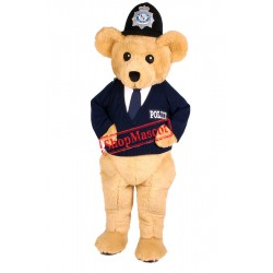 Top Quality Police Bear Mascot Costume