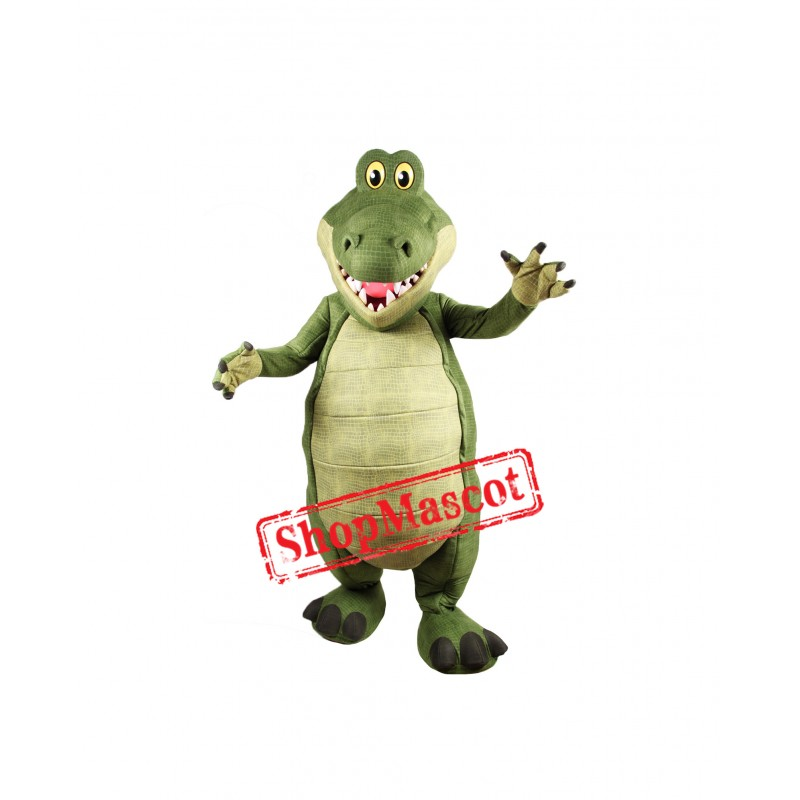 Top Quality Lightweight Crocodile Mascot Costume