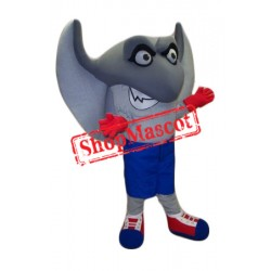 Sport Stingray Mascot Costume