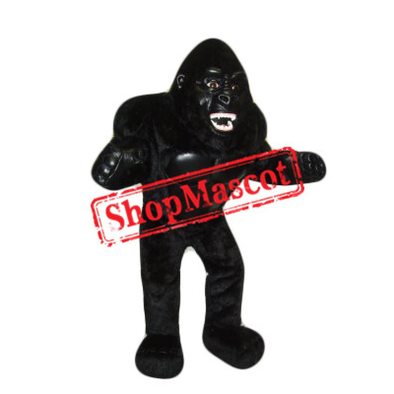 Best Quality Black Gorilla Mascot Costume