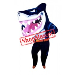 Sport Blue Shark Mascot Costume