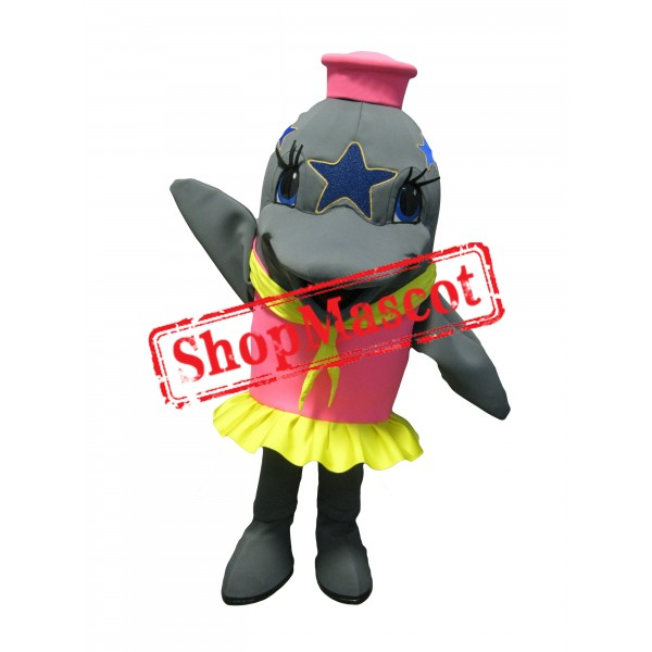 Beautiful Dolphin Mascot Costume