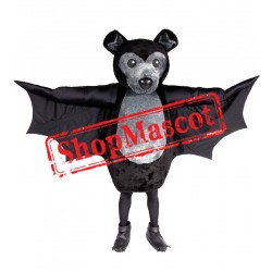 High Quality Black Bat Mascot Costume