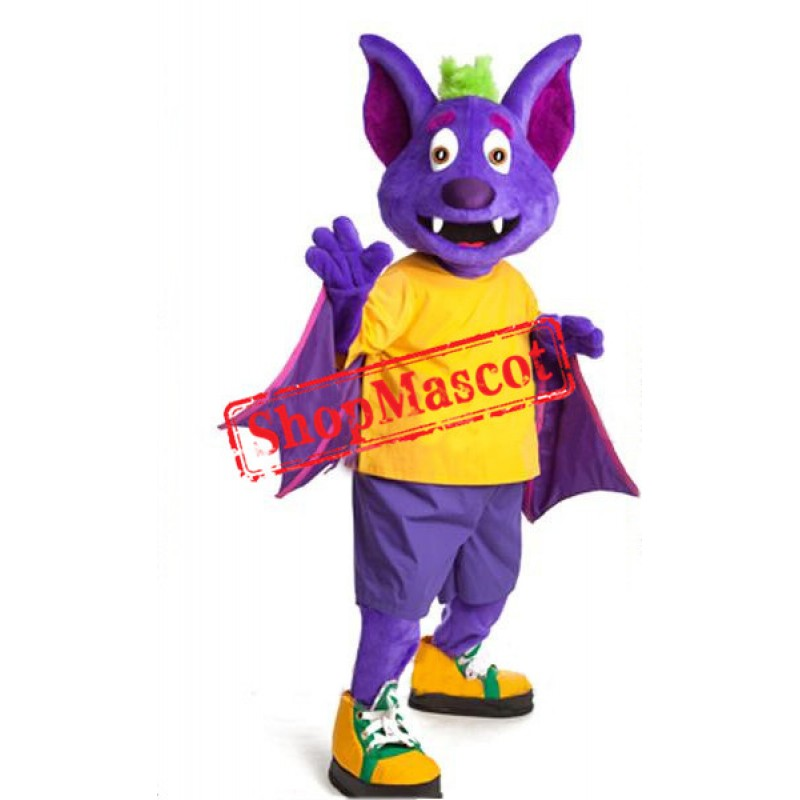Happy Bat Mascot Costume