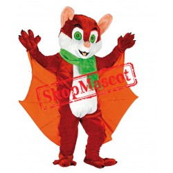 Happy Lightweight Bat Mascot Costume