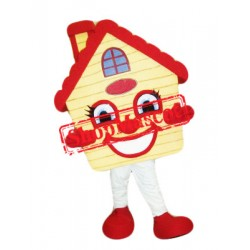 Super Cute House Mascot Costume