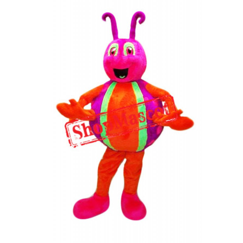 Little Colorful Bug Mascot Costume