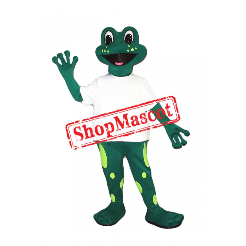 Super Cute Lightweight Frog Mascot Costume