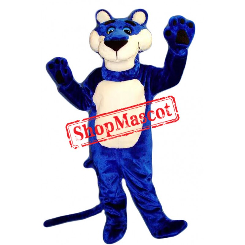 Top Quality Blue Panther Mascot Costume