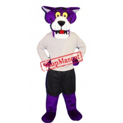 Top Quality Purple Panther Mascot Costume