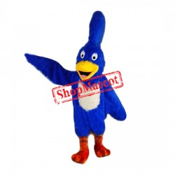 Top Quality Blue Roadrunner Mascot Costume