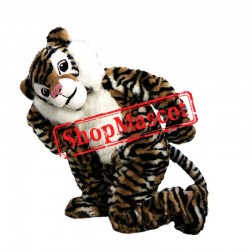 Super Cute Lightweight Tiger Mascot Costume For Adult