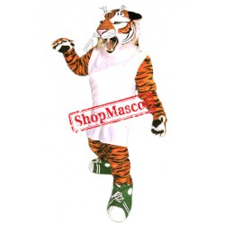 Sport Lightweight Power Tiger Mascot Costume