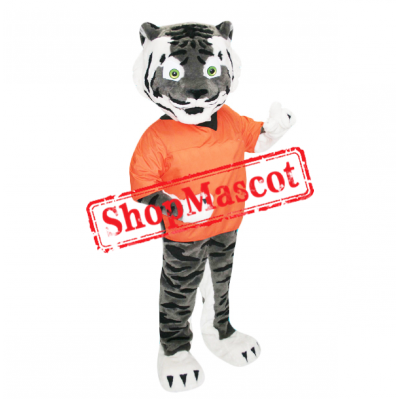 School Sport Tiger Mascot Costume