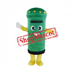 Green Postbox Mascot Costume