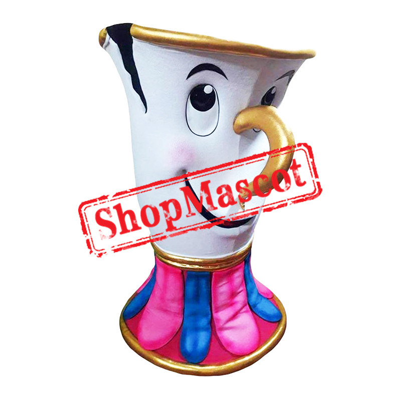 Chip Teacup Mascot Costume